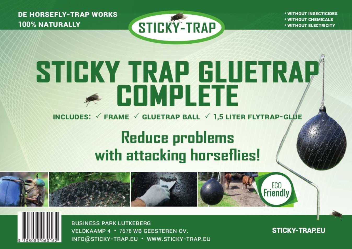 Sticky Trap glue trap for horseflies